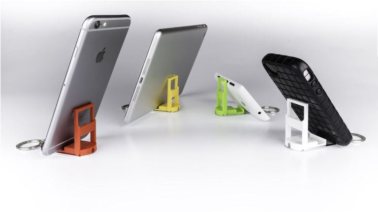 EH Keychain mobile phone holder
