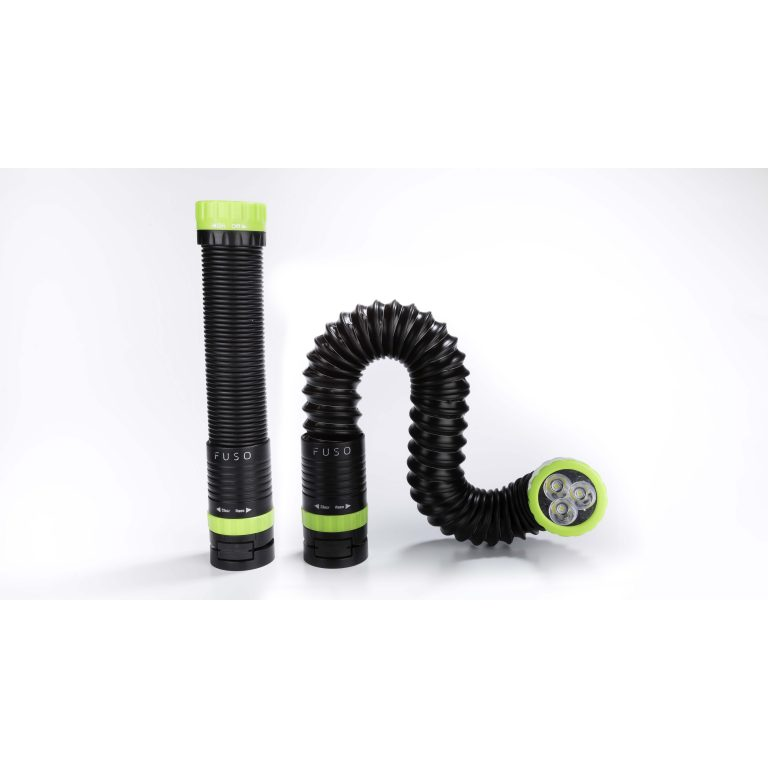All-In-One LED Flashlight Green Stretching
