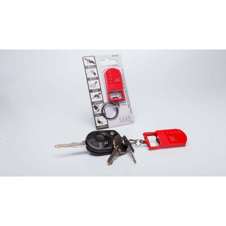 EH Keychain on car keys